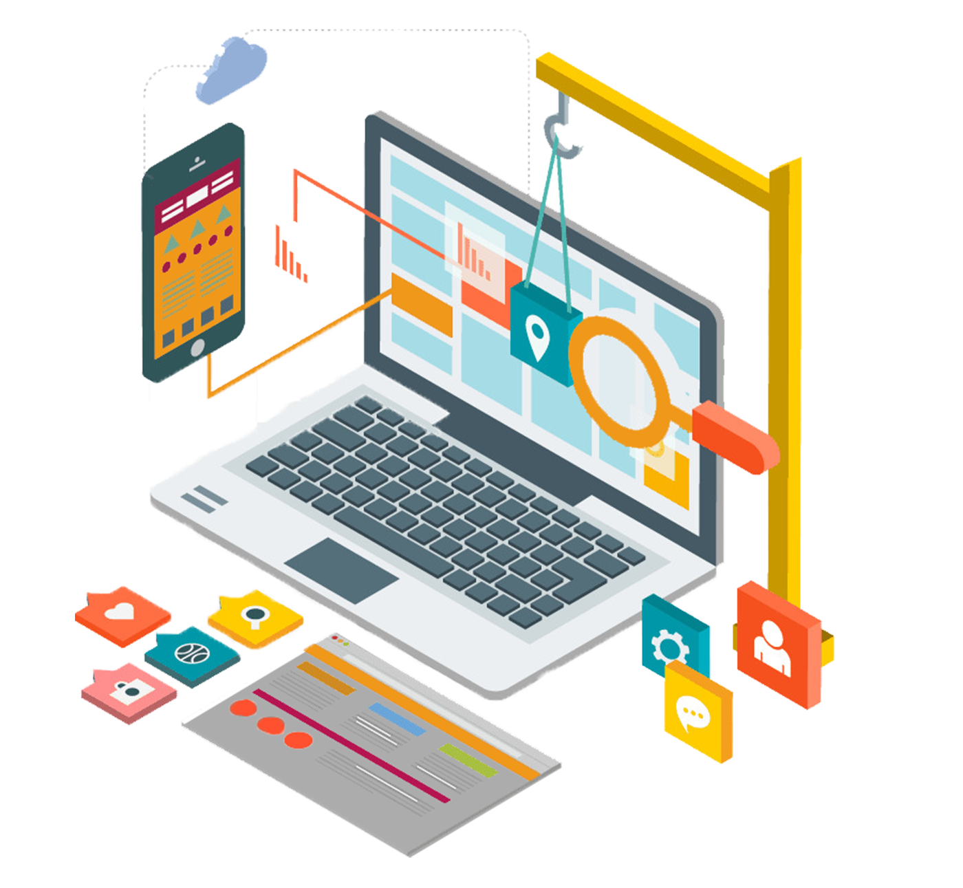 custom website development services company pune india